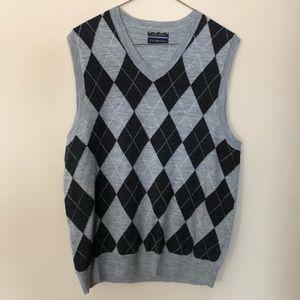 Men's Argyle Club Room Sweater Vest